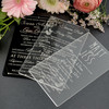 China Supplier Custom Acrylic Elegant Wedding