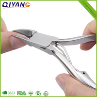 Professional Pedicure Cuticle Nail Clipper Stainless Steel Cuticle Nipper