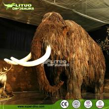 Animatronic Animal Model of Prehistoric Mammoth
