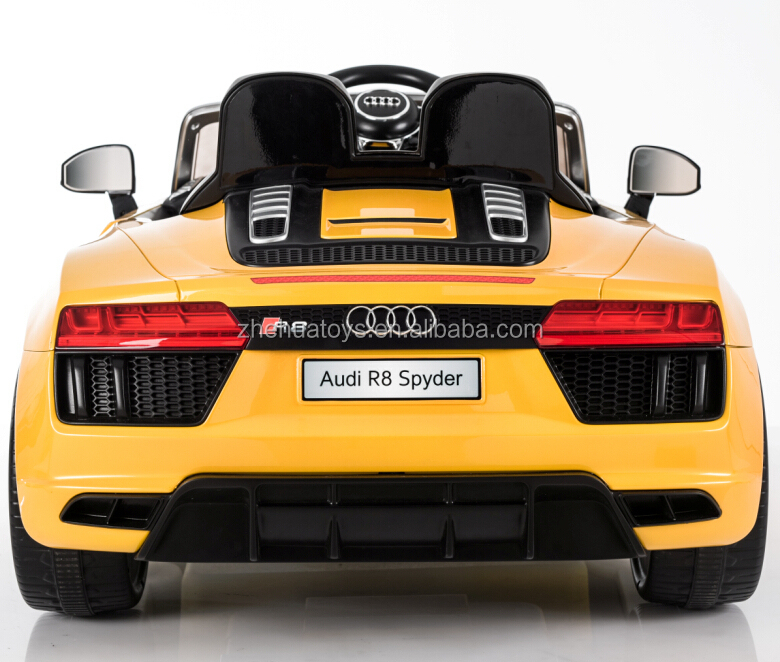 Audi R8 licensed ride on toy car for kids with remote