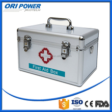 ISO FDA CE approved manufacture OEM metal professional factory first aid box