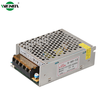 50Hz 60Hz DC 220v 12v 5A Switching Uninterrupted Led Power Supply 5A