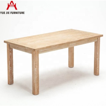 Wooden Square Classic Dining Table
