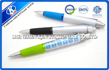 wholesale fashionable EN71 test passed plastic elastic strap ball pen