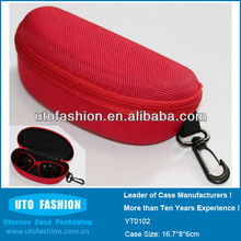 YT0102 2014 Wholesale Zipper Eye Glasses Case