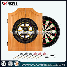 Quality constructed dart cabinet and backboards