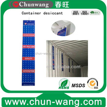 container ships desiccant humidity control bag
