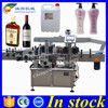 Free shipping both side label applicators,flat labeling machine