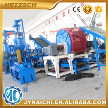 tire recycling milling machine