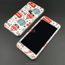 360 Protector Phone Case For iPhone6 Plus TPU Back Shell+PC Front Full Body Printing
