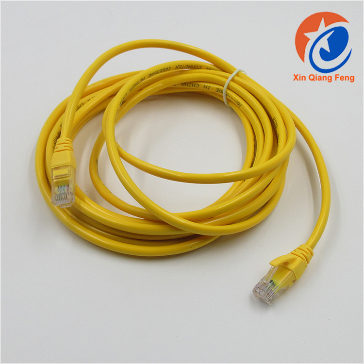 High quality 8 cord RJ45 double cat 5e utp network lan cable 10m