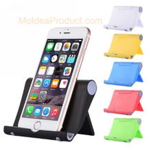Universal Phone Holder for iPad iPhone Samsung Rotary Stand Desktop Phone Bracket Foldable Mobile Phone Mount Holder