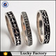 New 3pcs/set band ring set handmade antique silver jewelry
