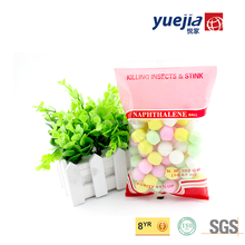 99%Pure Colorful Refined Naphthalene moth Balls for Closet
