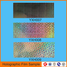 High quality soft and opaque Holographic Sequin Films