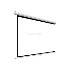 Manual Pull Down Projection Screen Wall Projector Screen 4:3&16:9