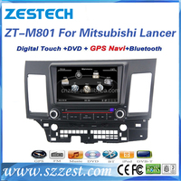 Double din auto spare parts for Mitsubishi Lancer EX car dvd player car parts accessories with car radio Audio AM/FM GPS DVD