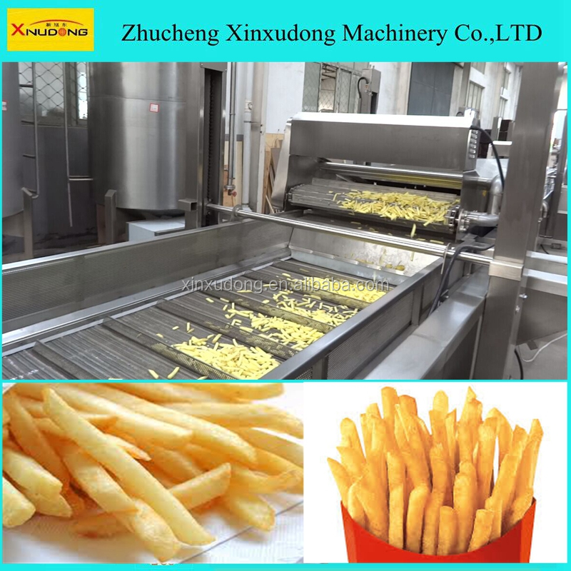 fully automatic french fries machine