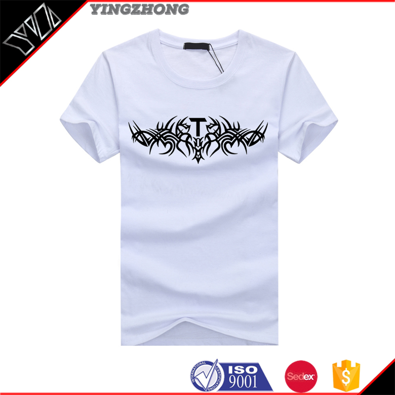 New custom mens t shirt printing blank t shirt design your for T shirt printing custom design