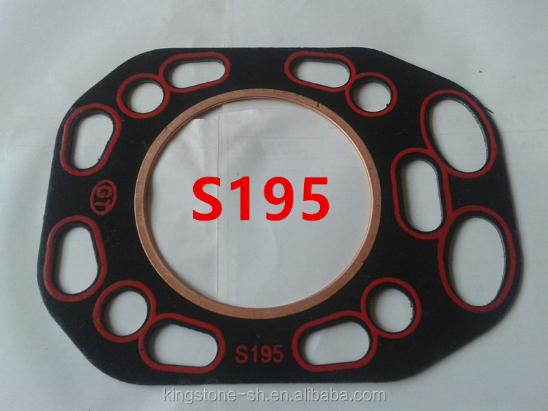 KINGSTONE farm tractor S195 cylinder head gasket diesel engine parts manufacturer and supplier