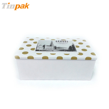 rectangle wine shipping packaging/ gift tin box for wine/ dongguan box for packing wine