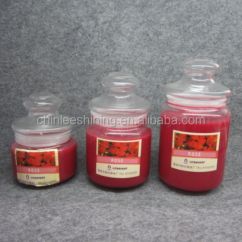 JAR CANDLE FOR EXPORT, CAN BE CUSTOMIZED