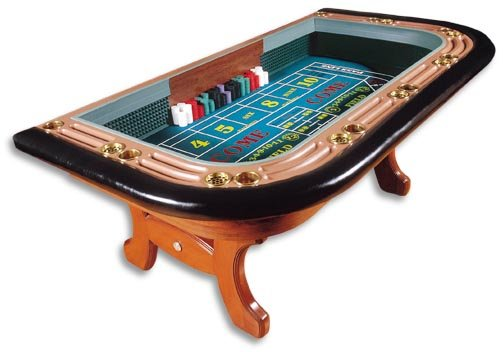 Craps supplies and equipment