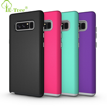 New Coming 2 in 1 Hybrid Shockproof Soccer Pattern TPU PC Phone Case Back Cover for Samsung Galaxy Note 8