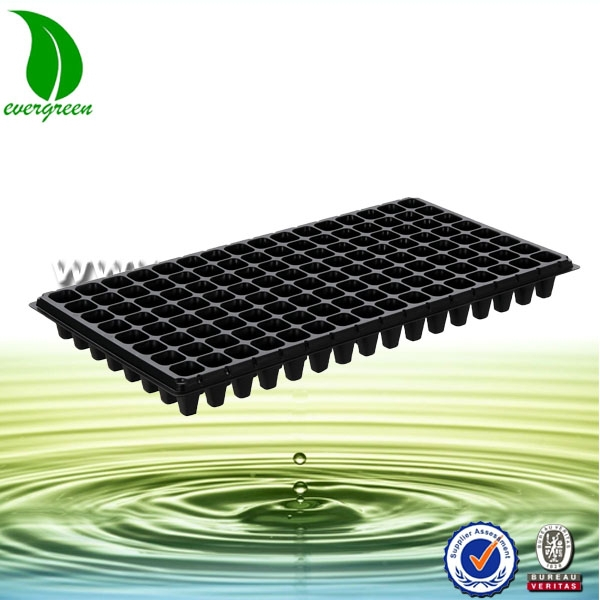 Wholesale all specifications plastic 128 cell large growing biodegradable seed started tray