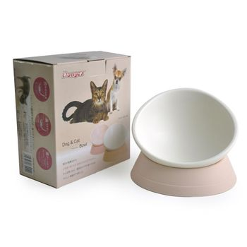 New design Hot selling sdetachable design Japanese pink personalized cat/dog bowl