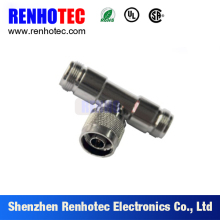 Factory Price T Type N Female Coaxial Connector One N Male To Two Female