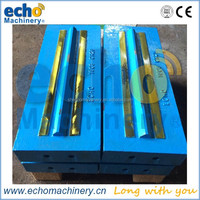 high chrome,martensitic steel blow bar for impact crusher in quarry,mining,recycling field