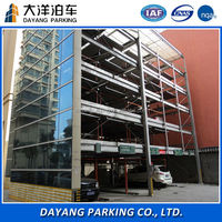 Hydraulic vertical-horizontal magic puzzle car parking system