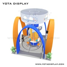 Yota offers 6x6 with hanging banner display Contractor for sale with reasonable price trade show stand