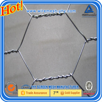 Factory!! KANGCHEN Gabion Basket, Heavy Hexagonal Wire Netting Hexagonal Gabion Box galvanized hexagonal wire netting