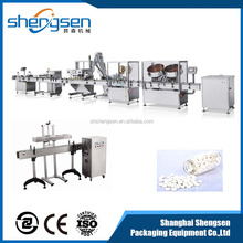 China New Design Best Metal pure water filling and sealing machine Production line
