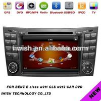 used factory car radios for BENZ E class w211/CLS w219 with analog tv bluetooth AM/FM radio RDS