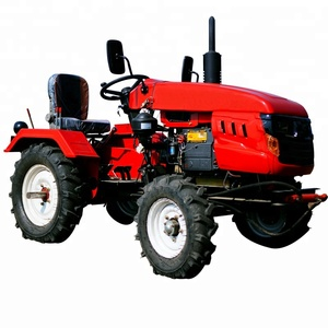 Hot selling CE approved mini farming tractor 15hp 2wd with best price