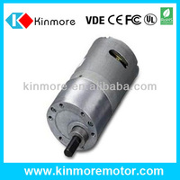 Ratio 1:207 Motor with Gearbox 6V High Torque Low RPM(KM-37B540)