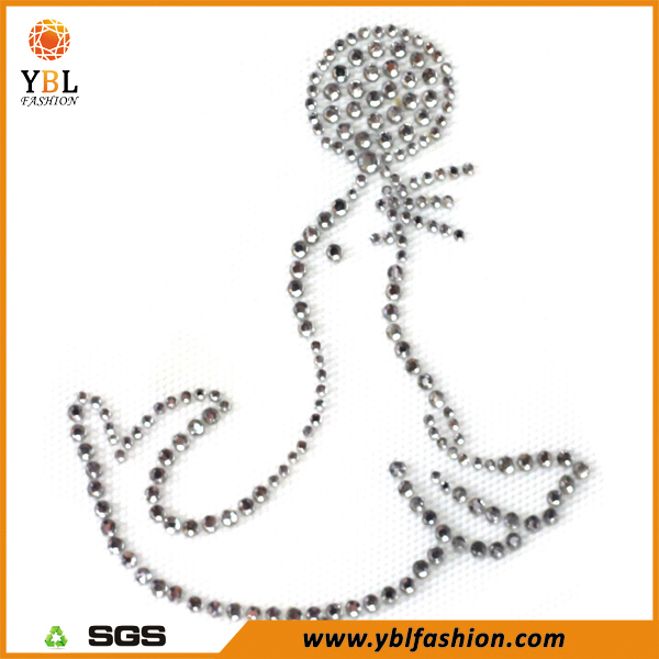 Flatback Glass Crystal Korean Hot fix Rhinestone Transfer Motif From Qingdao
