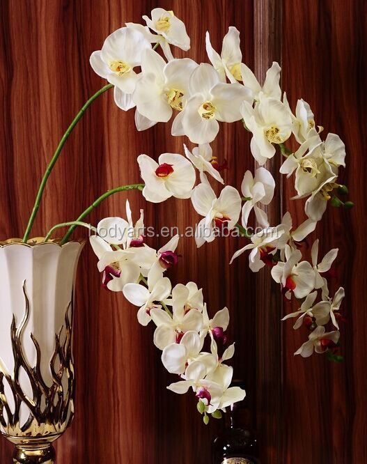 Wholesale New Design and High Quality Artificial Butterfly Orchid Plastic Flower
