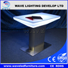 New design led light bar table/LED high top cocktail table for sale
