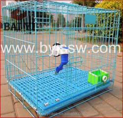Foldable Wire Dog Crate, Large Dog Kennel, Large Welded Metal Dog Crate(Alibaba Golden Supplier)