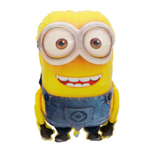 Kids toy Cartoon character Big size Minions aluminium foil balloons