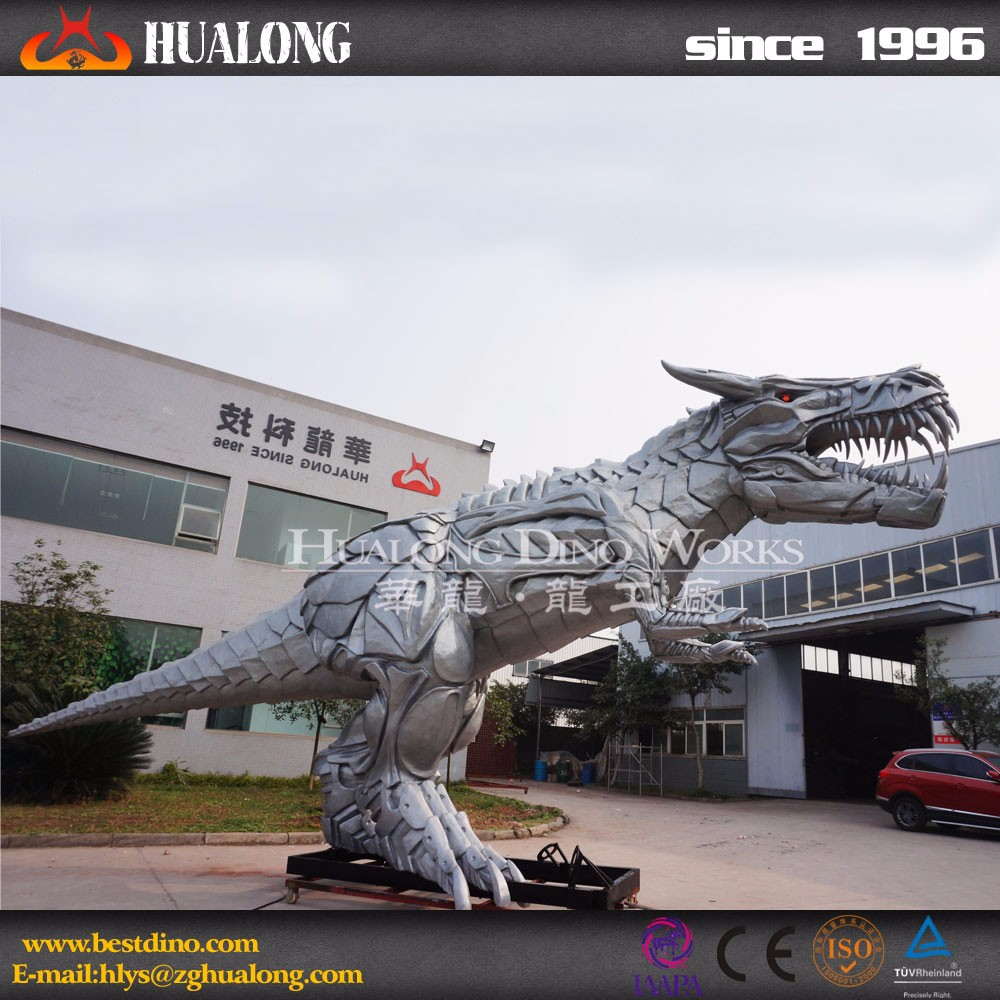 Vivid Amazing Animal Large Outdoor Fiberglass Sculpture