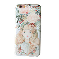 Design your own pattern on cell phone, rural scenery mobile water paste phone cases
