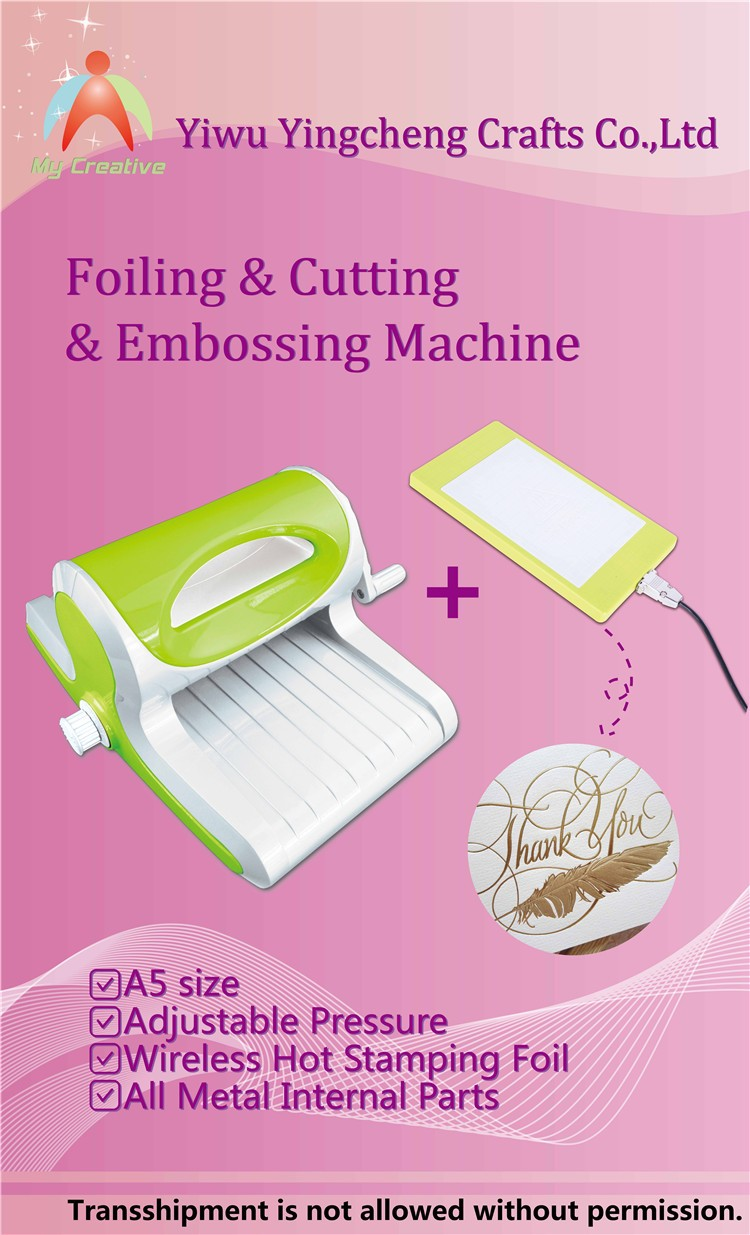 die cutting machine for craft with10 etching small machine embossing dies foil machine