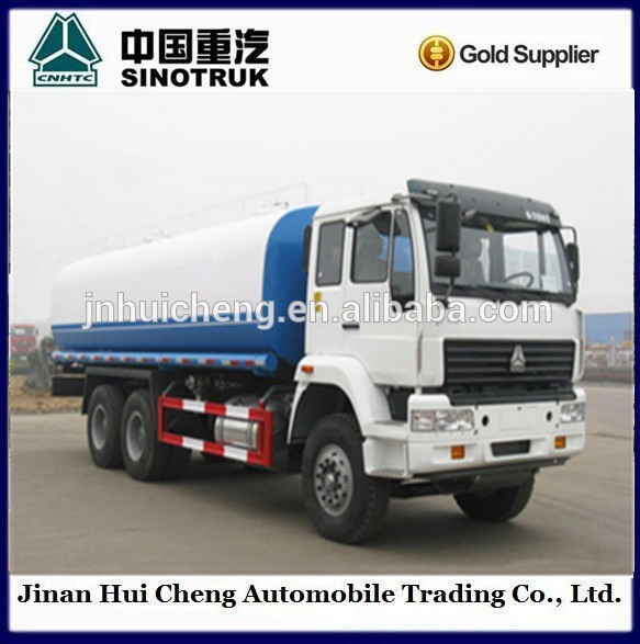 2016 Professional Manufacturer HOWO 10 wheels Stainless Steel Water Tank Truck