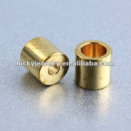 Wholesale Fashionable 18K Gold Plated Strong Magnetic Jewelry End Caps