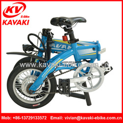 2016 fashion design Top sales Folding chopper electric bike 2016 new design